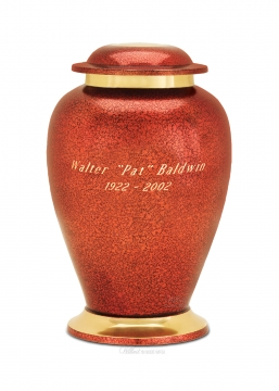 Avondale Copper Cremation Urn
