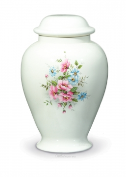Country Bouquet Cremation Urn