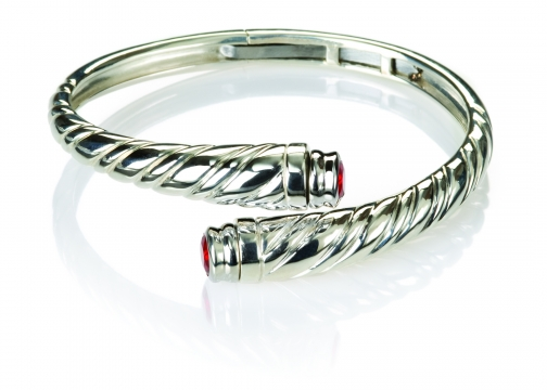 Eternal Embrace Sterling Silver Cremation Bracelet
