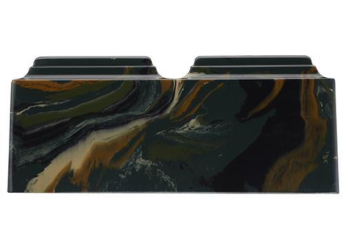 Camouflage Companion Cultured Marble Urn