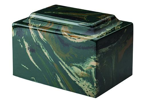 Camouflage Classic Cultured Marble Urn