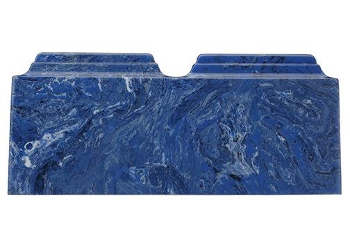 Mystic Blue Companion Cultured Marble Urn | Cremation Urns
