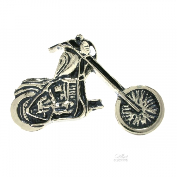 Motorcycle - Silver