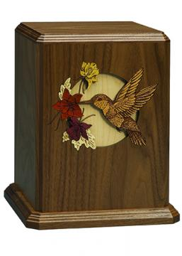 Dimensional Urn - Hummingbird