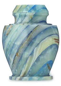 Carpel Onyx Blue Urn