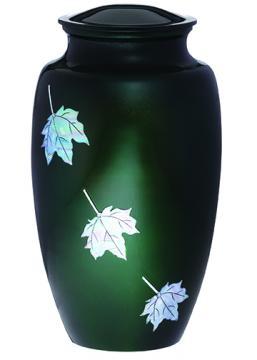 Green Leaf Urn