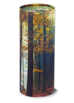 Autumn Woods Tube Urn