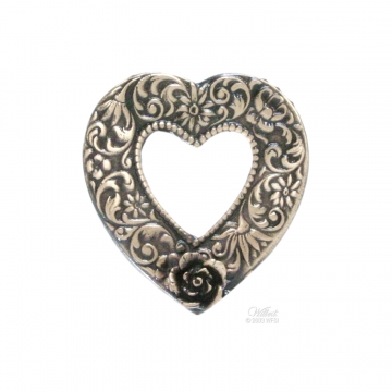 Picture Heart - Bronze