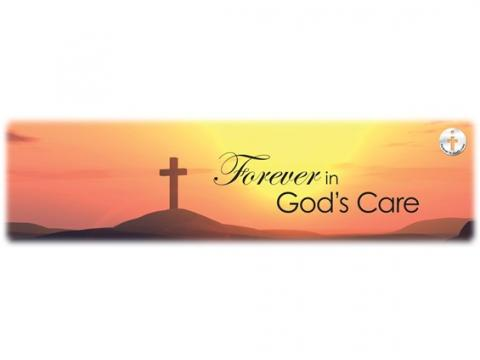 Forever in God's Care - Sunset