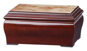 Burleson Wood Memory Chest