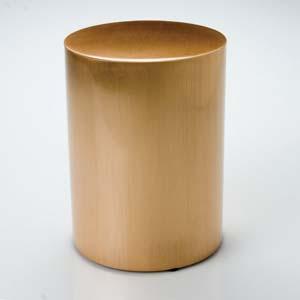Sheet Bronze Cylinder Urn