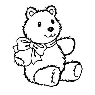 Bear (with Bow)