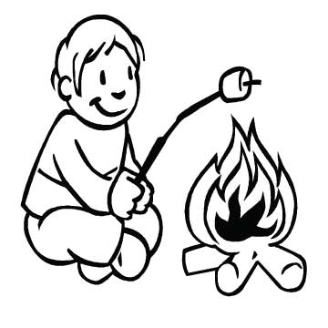 Boy (roasting Marshmallows)
