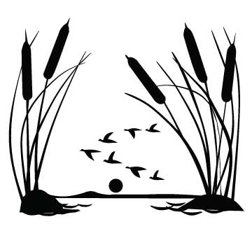 Cattails and Geese (Version 1)