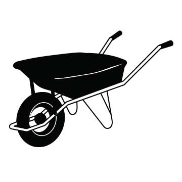 Garden Wheel Barrel