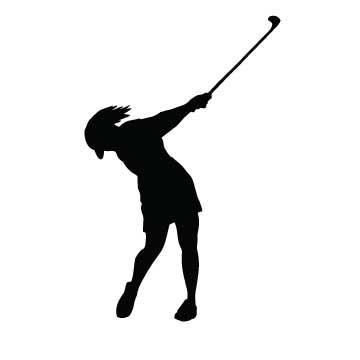 Golfer Lady
