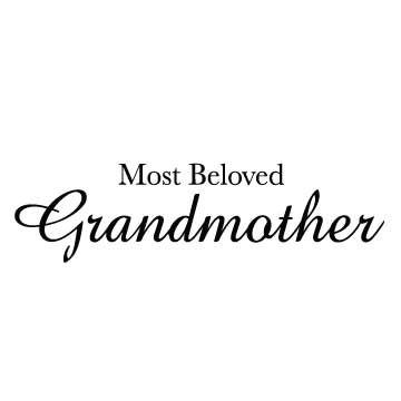 Most Beloved Grandmother