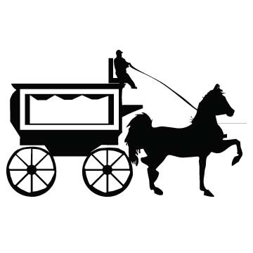 Horse Drawn Funeral Coach