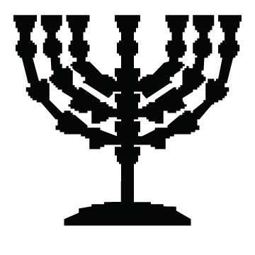 Menorah 7 Candles