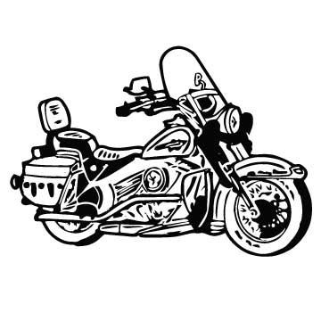 Motorcycle Harley Inspired