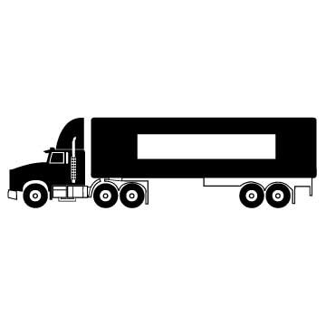 semi truck semi truck urns