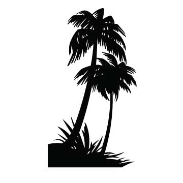 Tree (Palm, Tropical Breezes)