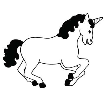 Unicorn (White)