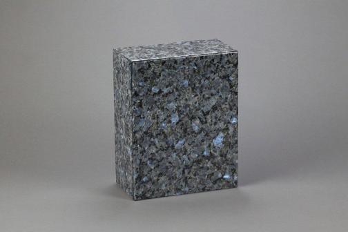 Eternity Blue Pearl Granite Cremation Urn