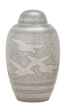 Going Home Metal Cremation Urn