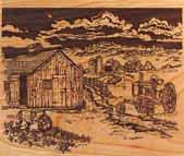 Lifescenes Farm Scene Panel