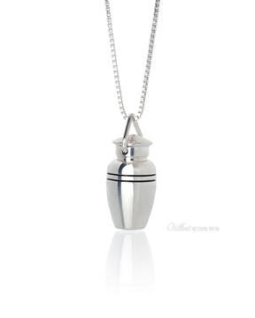 Remembrance Sterling Silver Cremation Pendant