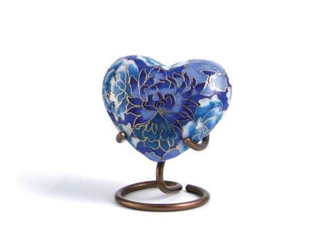 Elite Blue - Heart Keepsake