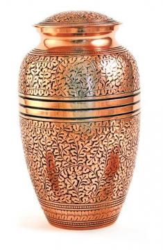 Cl.Engraved Copper Oak- Large