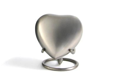 Grecian Pewter- Heart Keepsake