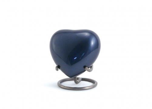 Trinity Moonlight Blue - Heart Keepsake