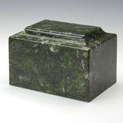 Verde Cultured Marble Cremation Urn