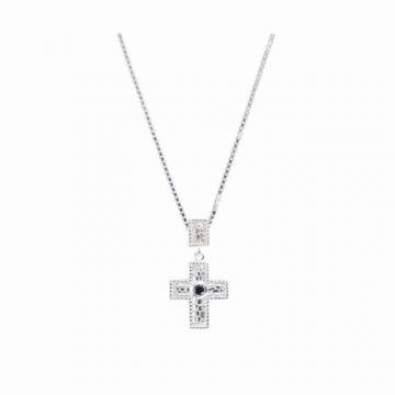Wilbert Heritage Pebbled Cross and Bale Pendant