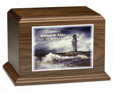 Custom Photo Horizontal-Walnut
