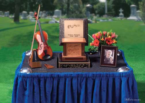 Wilbert Cremation Memorial Table